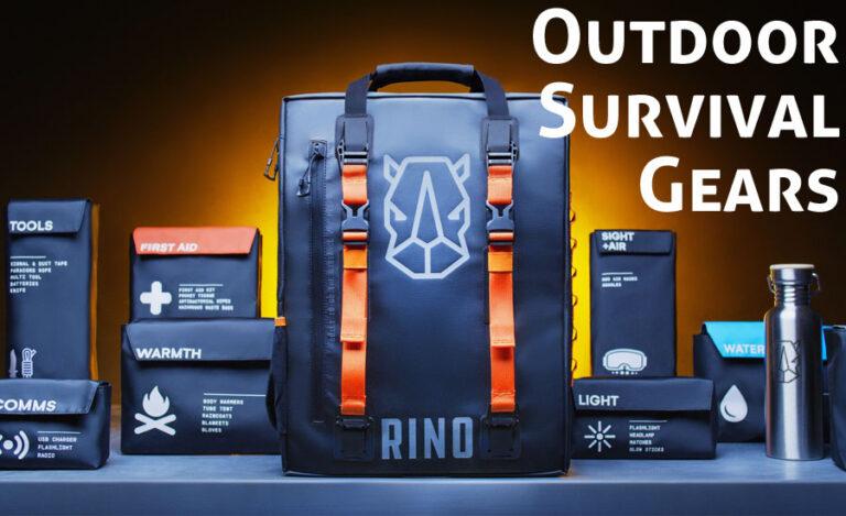 Top 10 Outdoor Survival Gears You Should Have