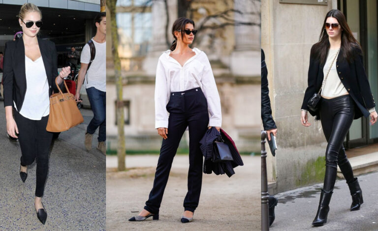 10 Office Outfit Ideas to Wear Black Pants for Women