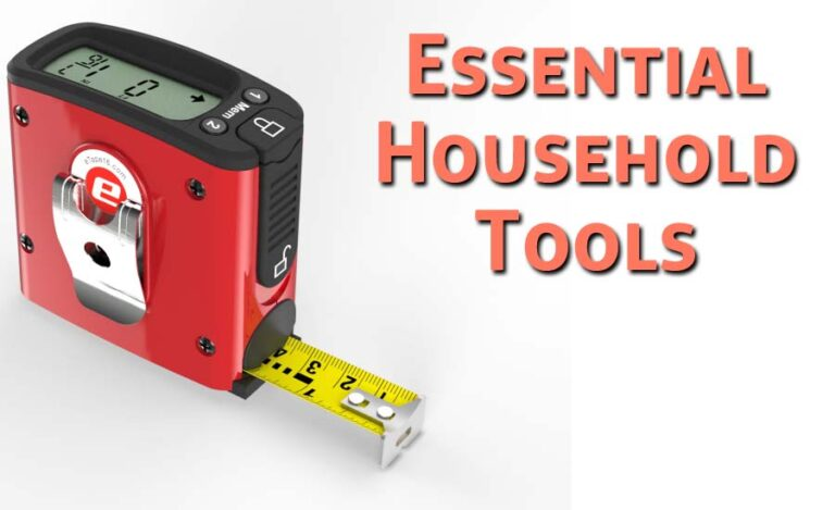 Top 10 Essential Household Tools for Everyone Needs
