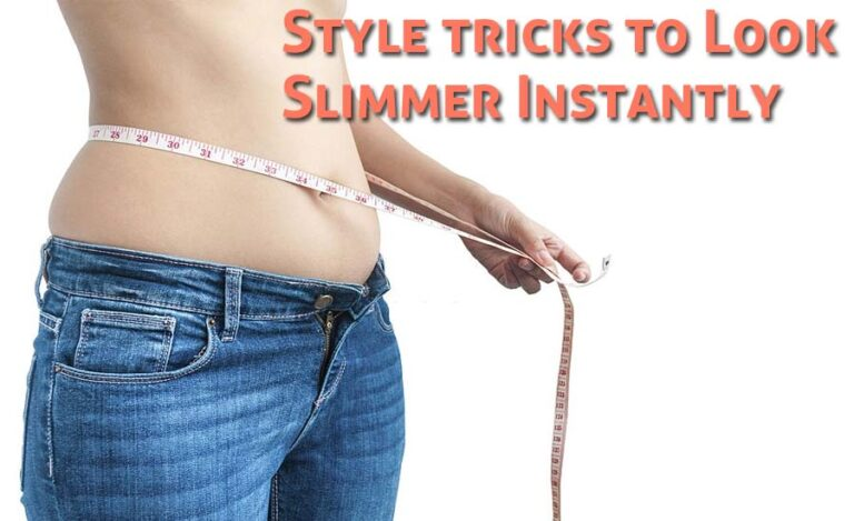 10 Style Tricks That Can Help Women Look Slimmer Instantly