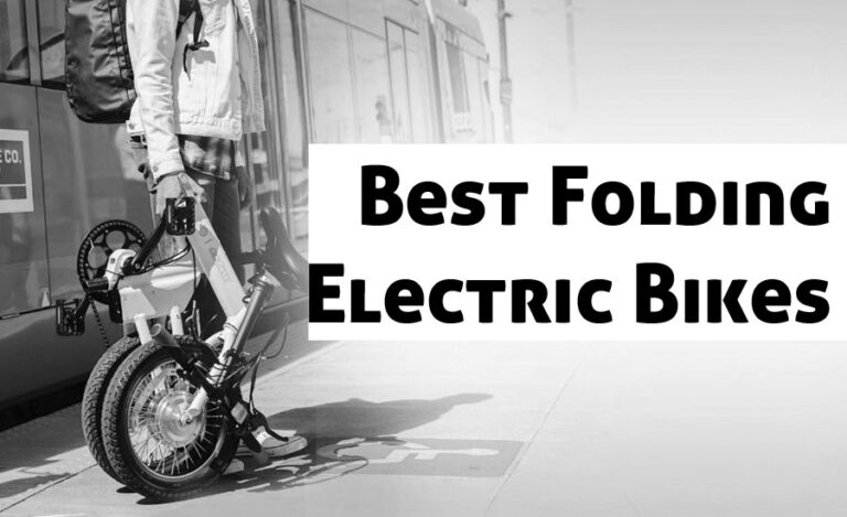 10 Lightweight Folding Electric Bikes for Everyday Traveling