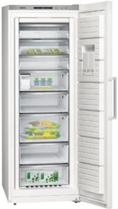 Cold Ventilated Upright Freezer Siemens Gs58naw30