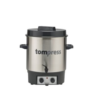 Electric Sterilizer In Stainless Steel Jars