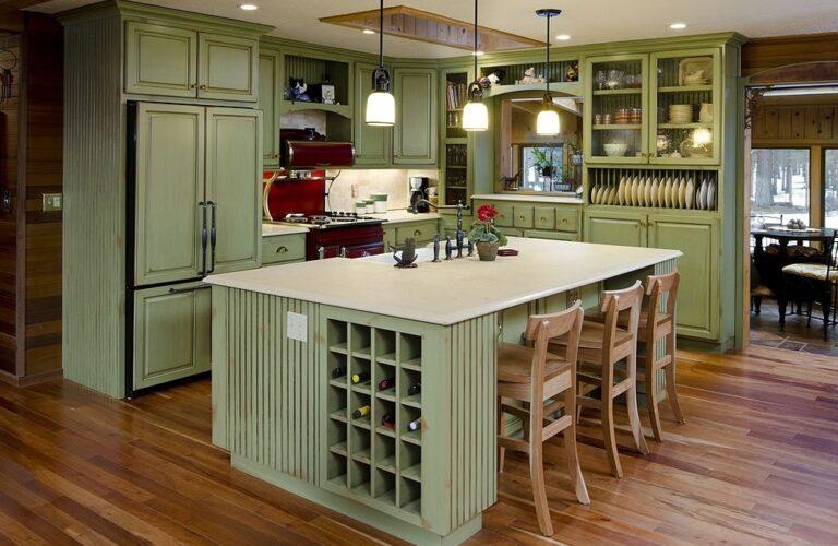 Stunning Central Kitchen Island Design Ideas