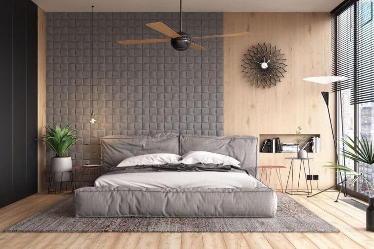 01. Trendy bedroom decorating ideas 2021