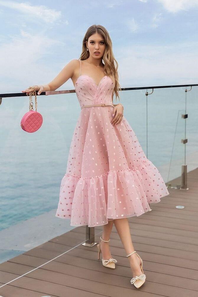 02 Polka dot dress