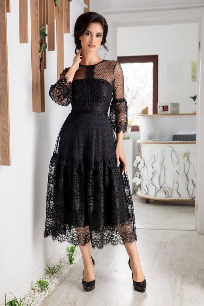 03 Black wedding dress