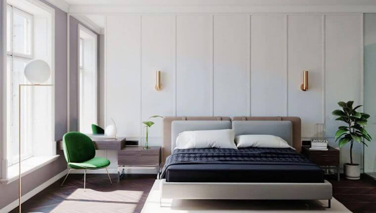 05. Mid-Century Style 2021 Trendy Bedroom