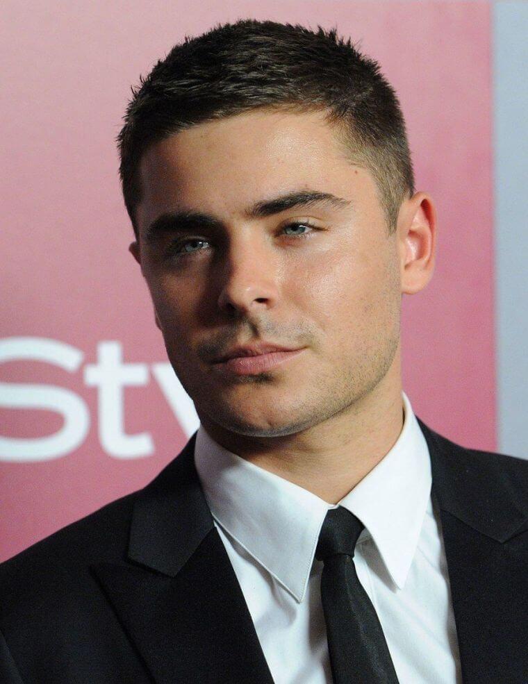 08. Short hair is suitable even for men with round faces