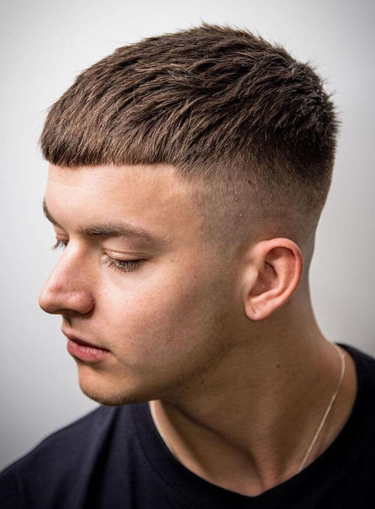 10. The regular haircut is also one of the most trendy cuts and also the most versatile for men in summer.