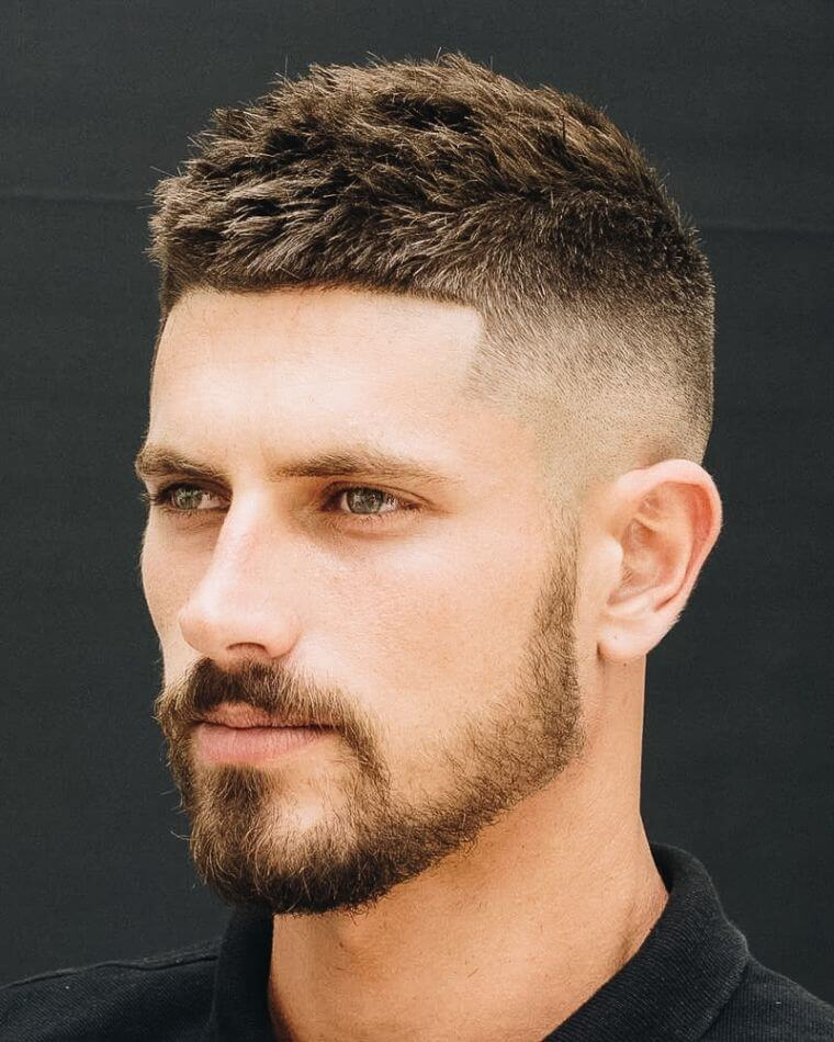 12. By opting for the regulation cut, you can change your look as much as you want