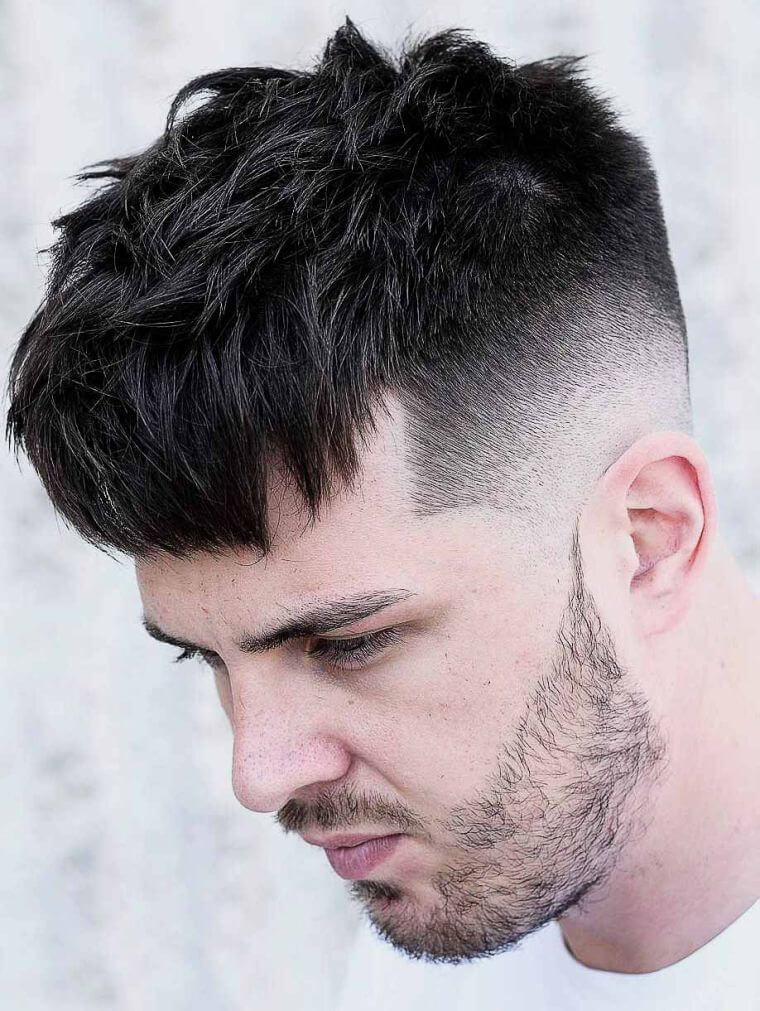 17. If you choose this cut, style your hair towards the front