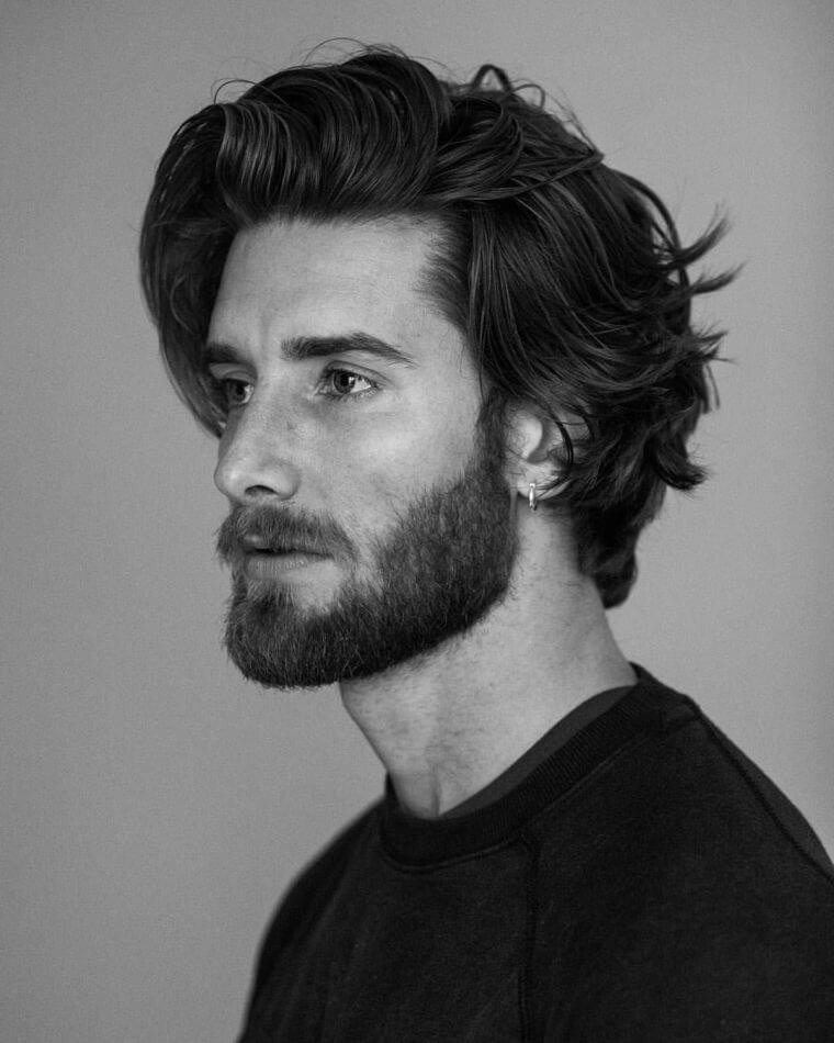 19. The Surf cut is for those who like to have length in their hair
