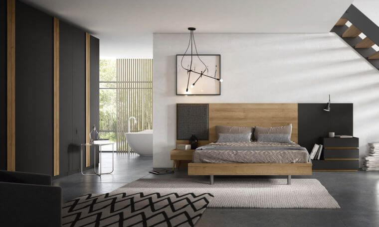 21. The mixture of different materials is very fashionable in the interior decoration in 2021