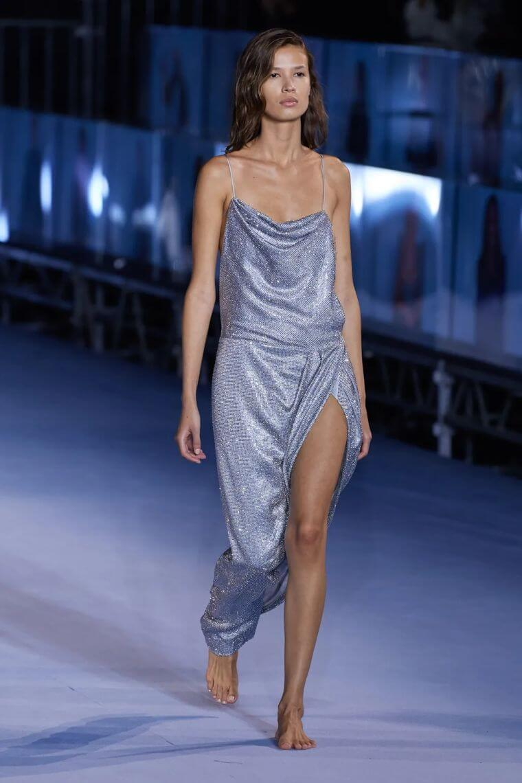 27. Opt for a sequined dress for your night out in summer