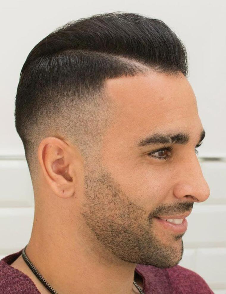 32. Short Pompadour haircut