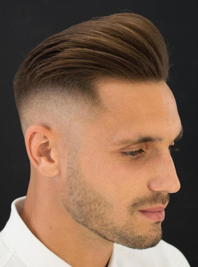 33. If you like longer hair on the top of the head, go for this modern cut