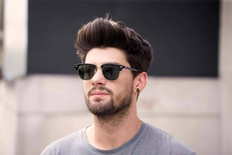 34. If you like longer hair on the top of the head, go for this modern cut