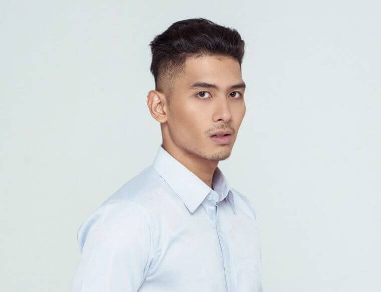 35. If you like longer hair on the top of the head, go for this modern cut
