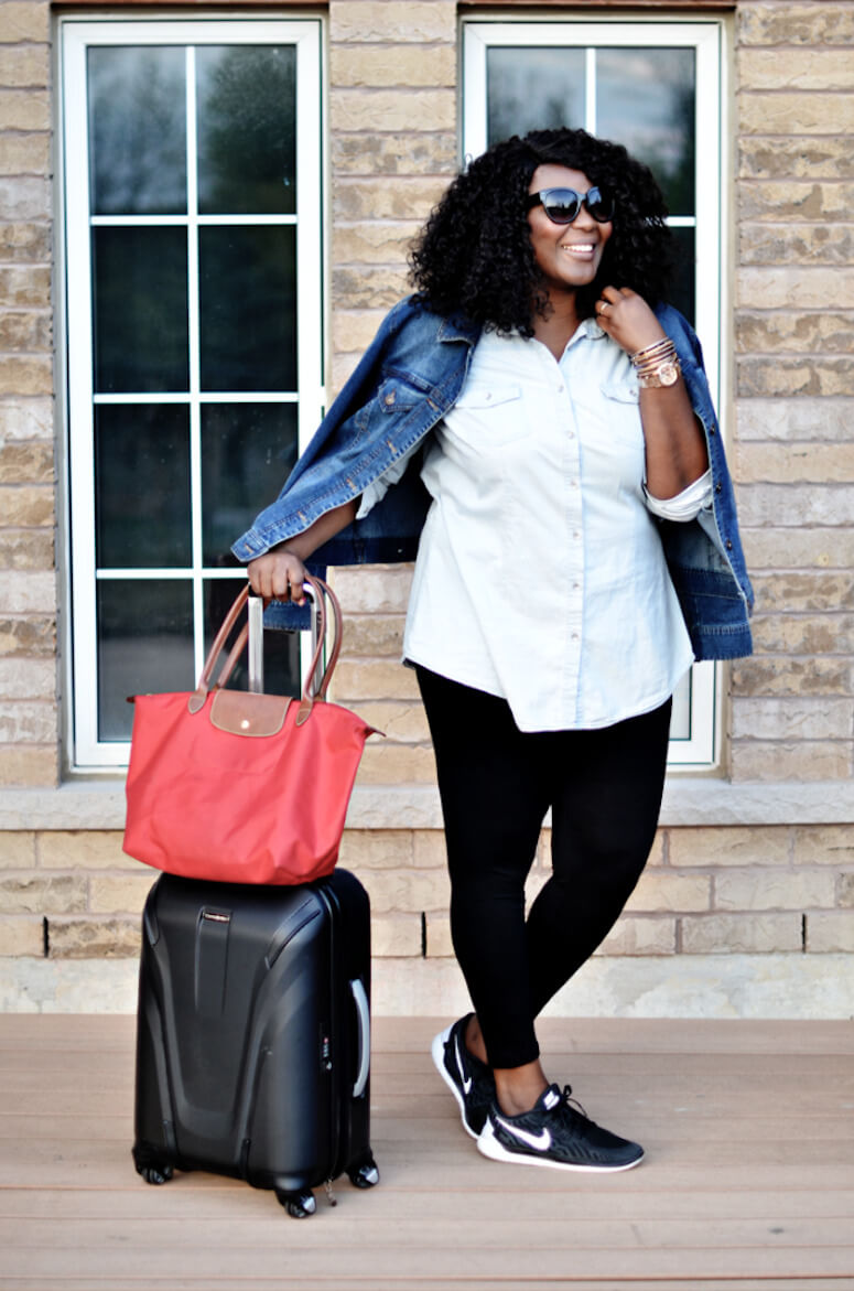 9. Legging is an inseparable travel companion